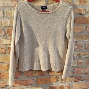 The Limited vintage 90s knit linen sweater guc